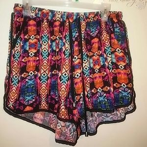 New Look multi color shorts